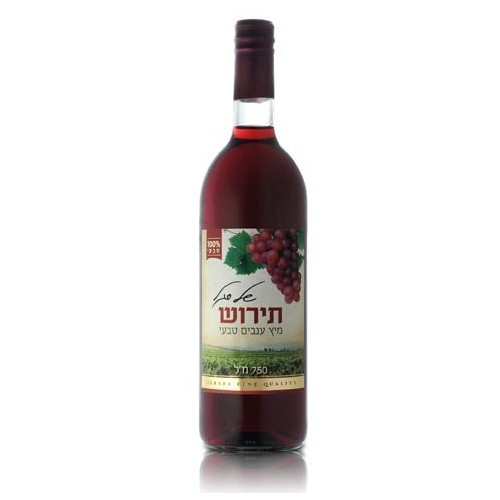"Grape Juice ""Tirosh"", Segal 750 ml"
