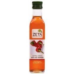 Extra panenský olivový olej s pálivou papričkou, Zeta 250 ml