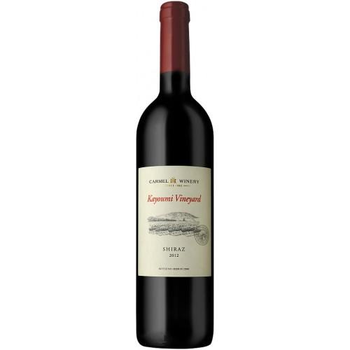 Single Vineyard Kayoumi Shiraz, Carmel 750 ml