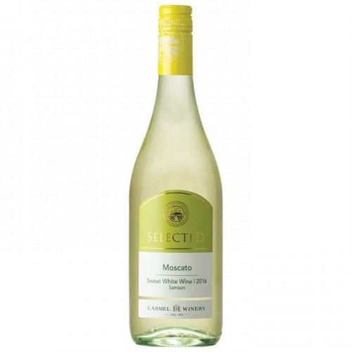 Selected Moscato, Carmel 750 ml